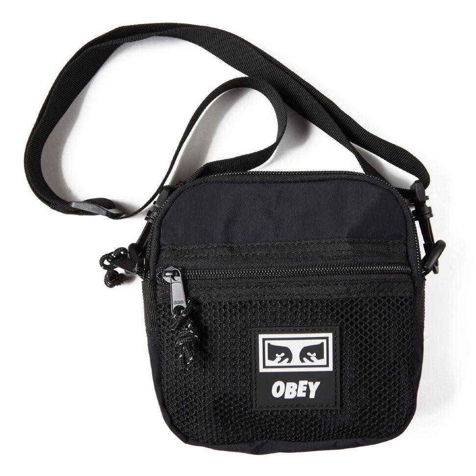 Сумка OBEY Conditions Traveler Bag Iii Black 2020