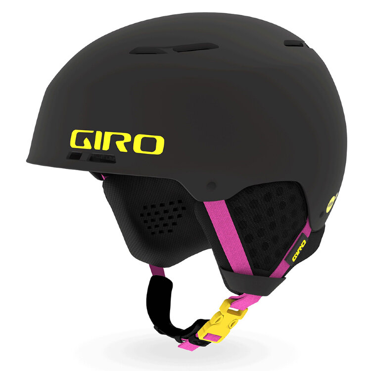 Шлем горнолыжный GIRO Emerge Mips Matte Black/Neon Lights 2021, фото 1