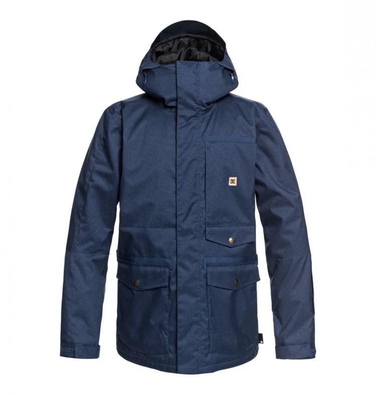 Купить Куртка сноубордическая DC SHOES Servo Jkt M Insignia Blue, Китай