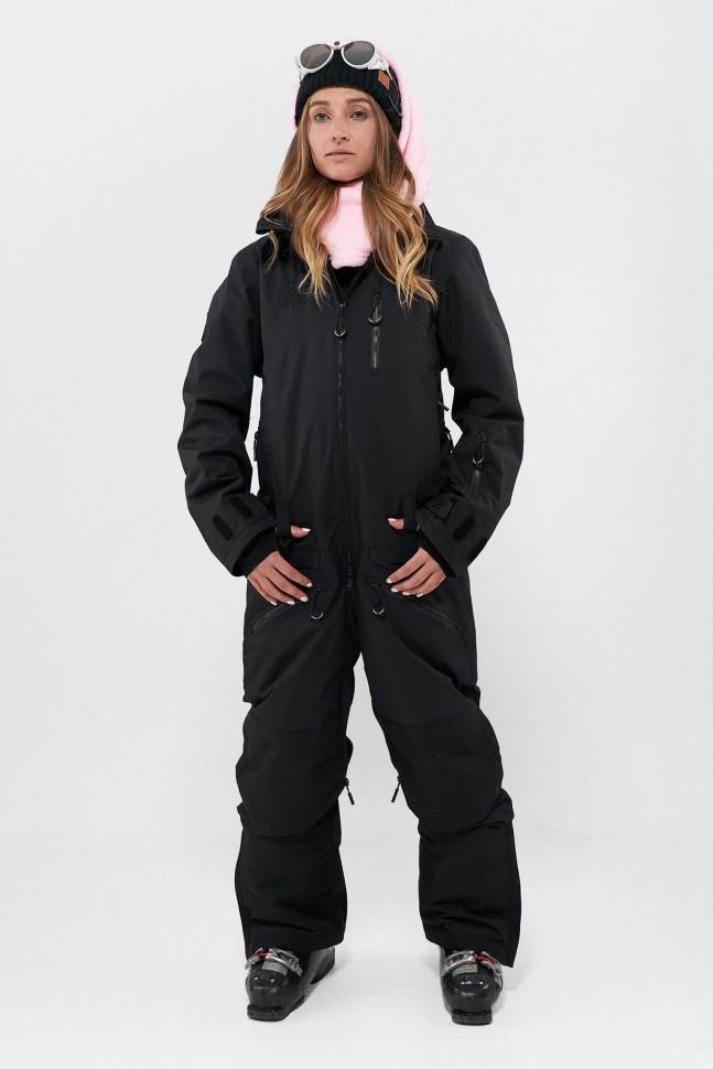 Комбинезон для сноуборда женский COOL ZONE Urban Черный фото