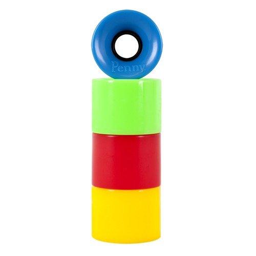 Купить Колеса для лонгборда PENNY Wheels SS Blue/Green/Red/Yellow Multi 59 mm, Австралия