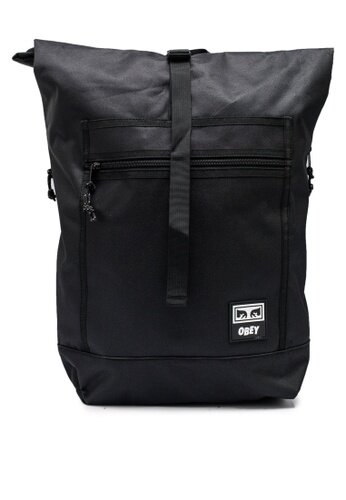 Рюкзак OBEY Conditions Roll Top Bag Iii Black 2020 фото