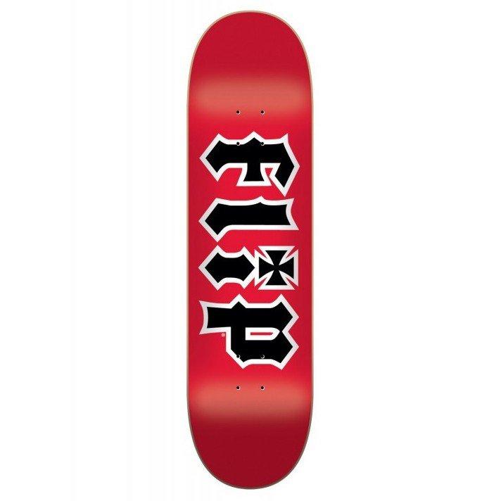 Купить Дека Для Скейтборда FLIP Hkd Deck RED 7,5 , Испания