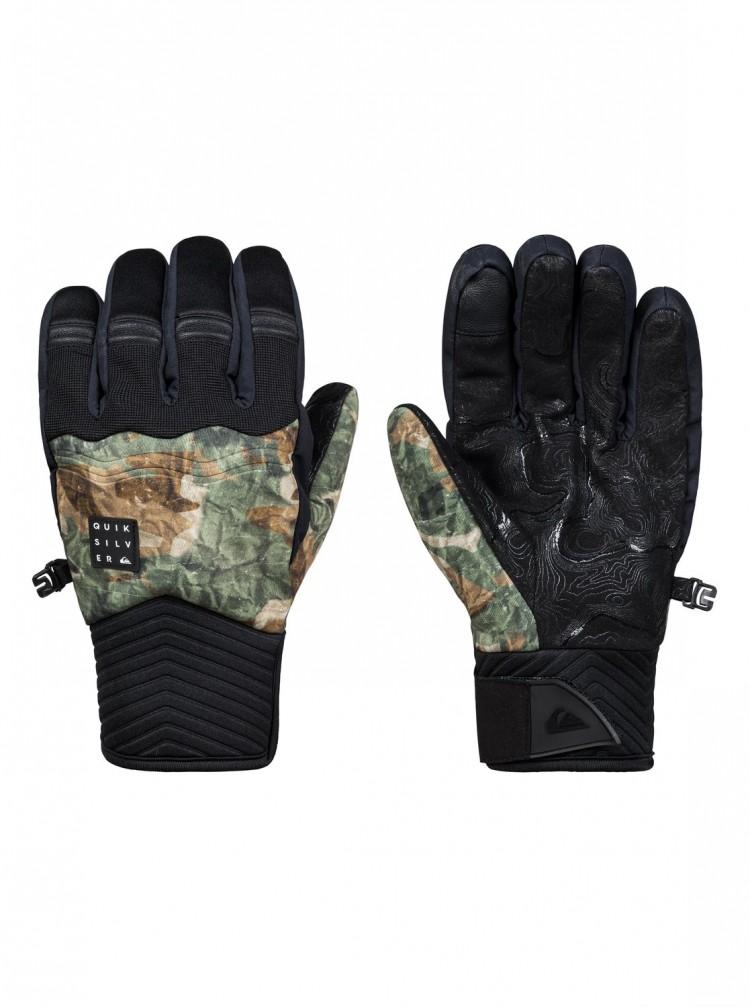Купить Перчатки QUIKSILVER Method Glove M Grape Leaf_Tanenbaum, Китай