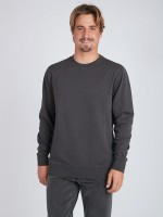 Флисовый свитшот мужской BILLABONG Wave Wash Crew Black