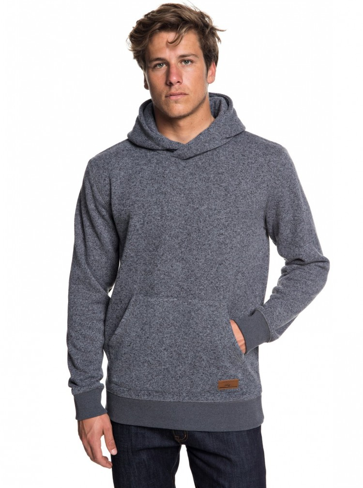 Купить Джемпер QUIKSILVER Kellerhood M Dark Grey Heather, Китай
