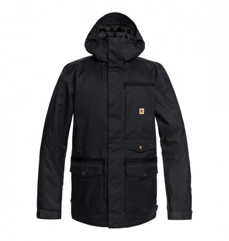 Купить Куртка для сноуборда мужская DC SHOES Servo Jkt M Black, Китай