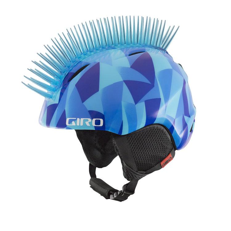 Купить Горнолыжный шлем GIRO Launch Plus Blue Icehawk