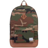 Рюкзак HERSCHEL Heritage A/S Woodland Camo/Tan Synthetic Leather