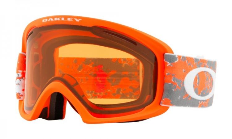 Купить Маска горнолыжная OAKLEY O Frame 2.0 Xl Arctic Fracture Orange/Persimmon, Китай