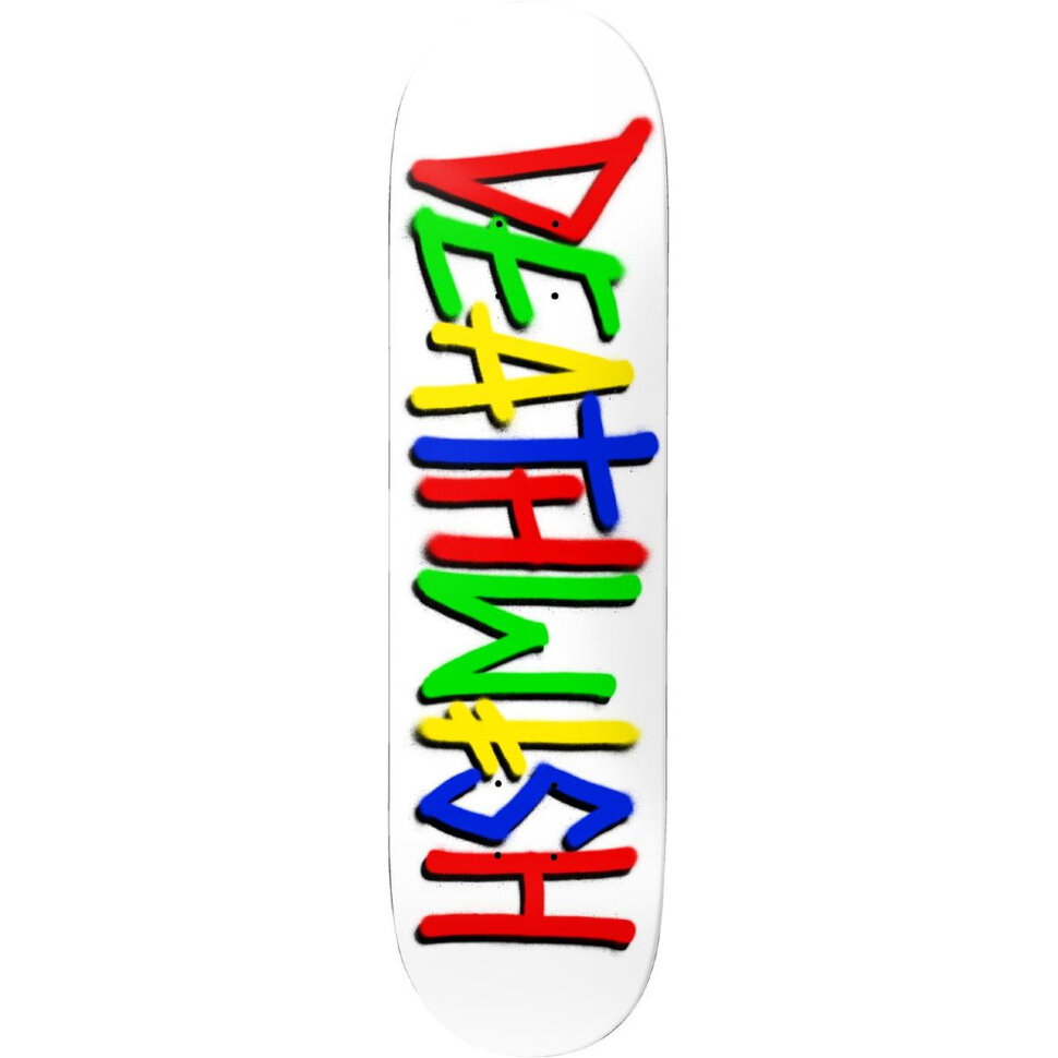 Дека для скейтборда DEATHWISH Deathspray Deck Multi White 8 дюйм