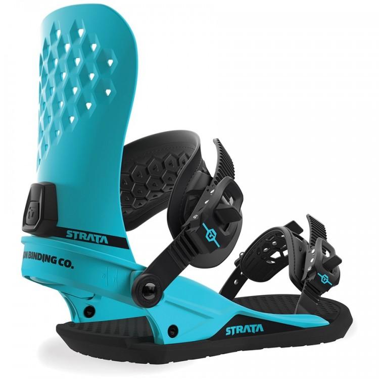 Купить Крепления для сноуборда мужские Union Strata Hyper Blue, Китай