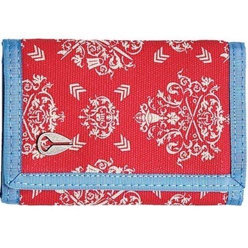 Купить Кошелек NIXON TREE HUGGER TRI-FOLD WALLET SS15 Red Ornate