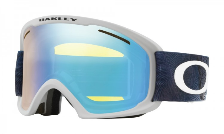 Купить Маска горнолыжная OAKLEY O Frame 2.0 Xl Mystic Flow Poseidon/High Intensity Yellow Iridium, Китай