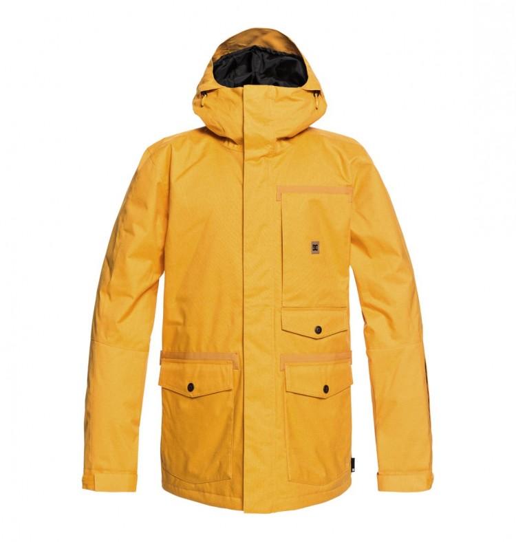 Купить Куртка для сноуборда мужская DC SHOES Servo Jkt M Golden Rod, Китай