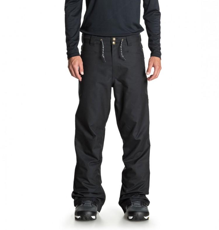 Штаны для сноуборда мужские DC SHOES Relay Pnt M Waxed Black, Китай  - купить со скидкой