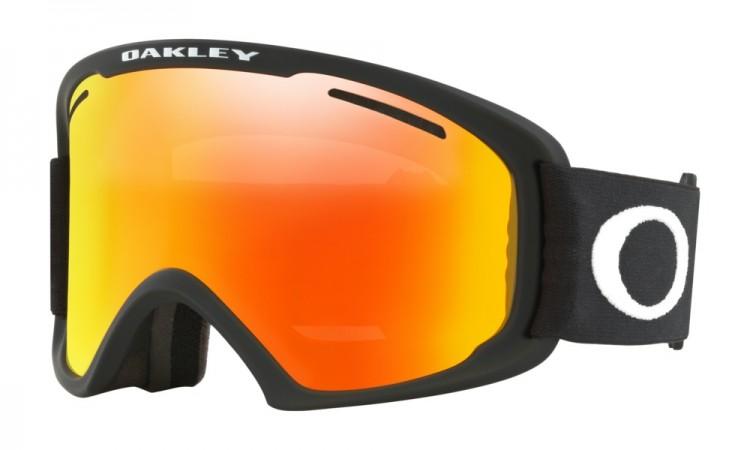 Маска горнолыжная OAKLEY O Frame 2.0 Xl Arctic Fracture Matte Black/Fire Iridium, Китай  - купить со скидкой