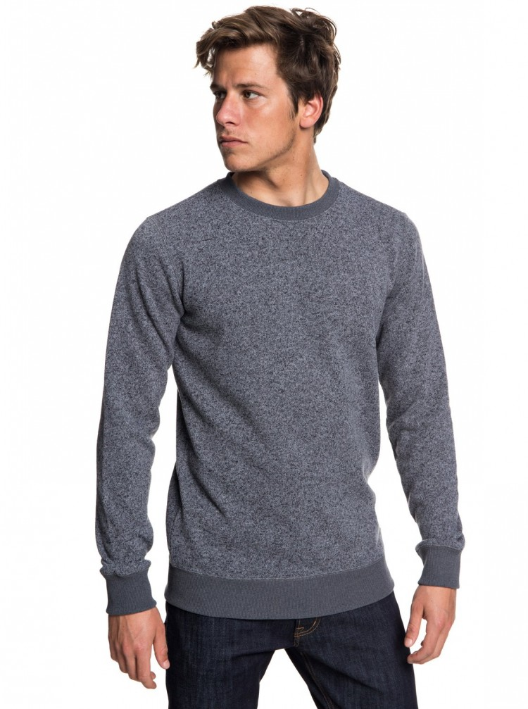 Купить Джемпер QUIKSILVER Kellercrew M Dark Grey Heather, Китай
