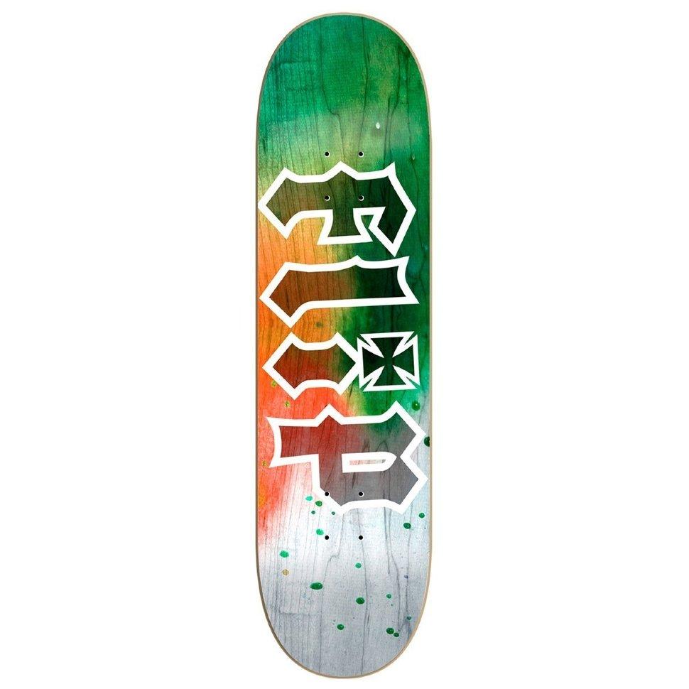 Дека Для Скейтборда FLIP Hkd Tie Dye Deck ORANGE 8,13