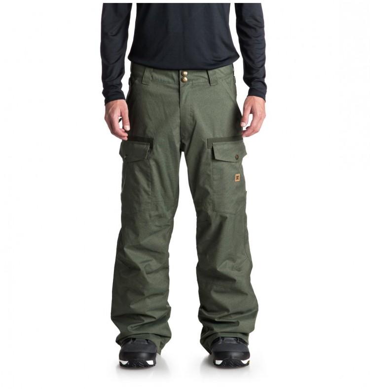 Купить Штаны для сноуборда мужские DC SHOES Code Pnt M Beetle, Китай