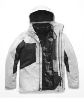 Куртка для сноуборда мужская THE NORTH FACE M Clement Triclimate Jacket High Rise Greay/Asphalt Urban