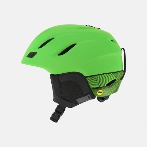 Купить Шлем горнолыжный GIRO Nine Matte Bright Green, Сша