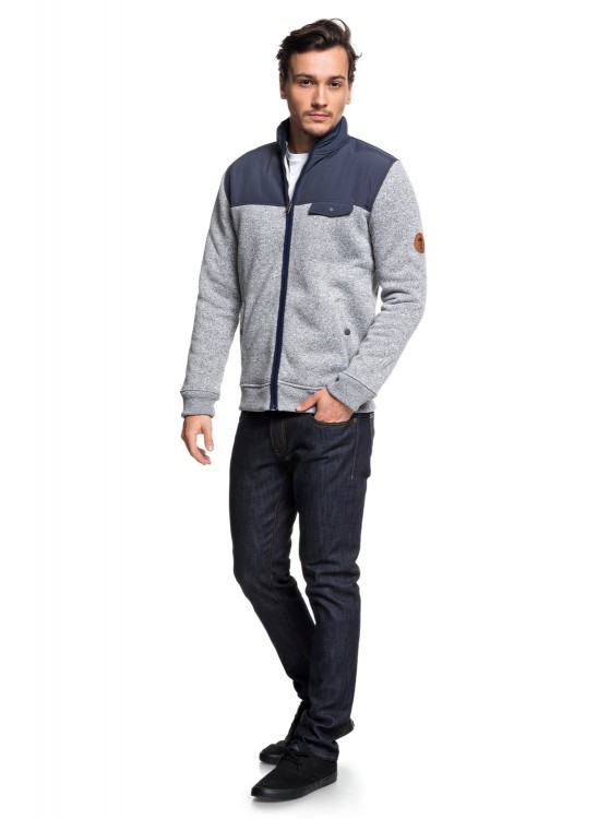 Кардиган QUIKSILVER Kellermixfz M Blue Nights, фото 3