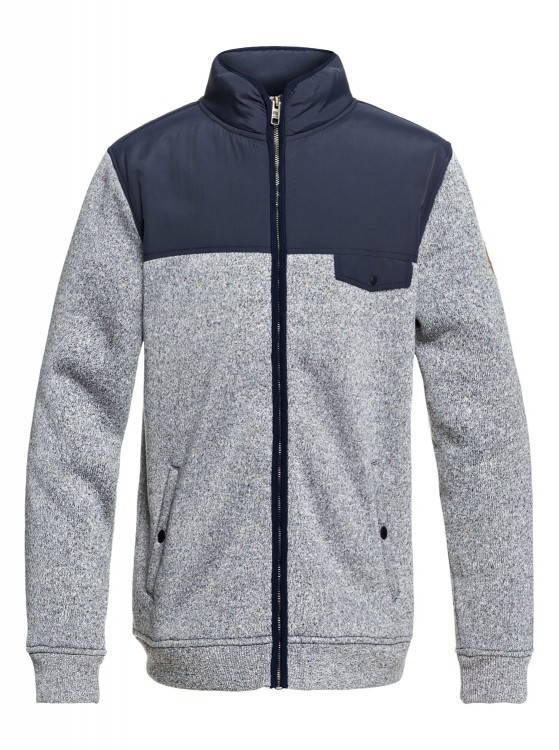 Кардиган QUIKSILVER Kellermixfz M Blue Nights, фото 5