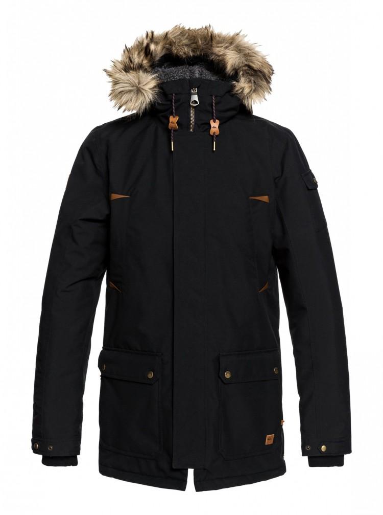 Купить Куртка мужская QUIKSILVER Ferris Jk M Black, Индонезия
