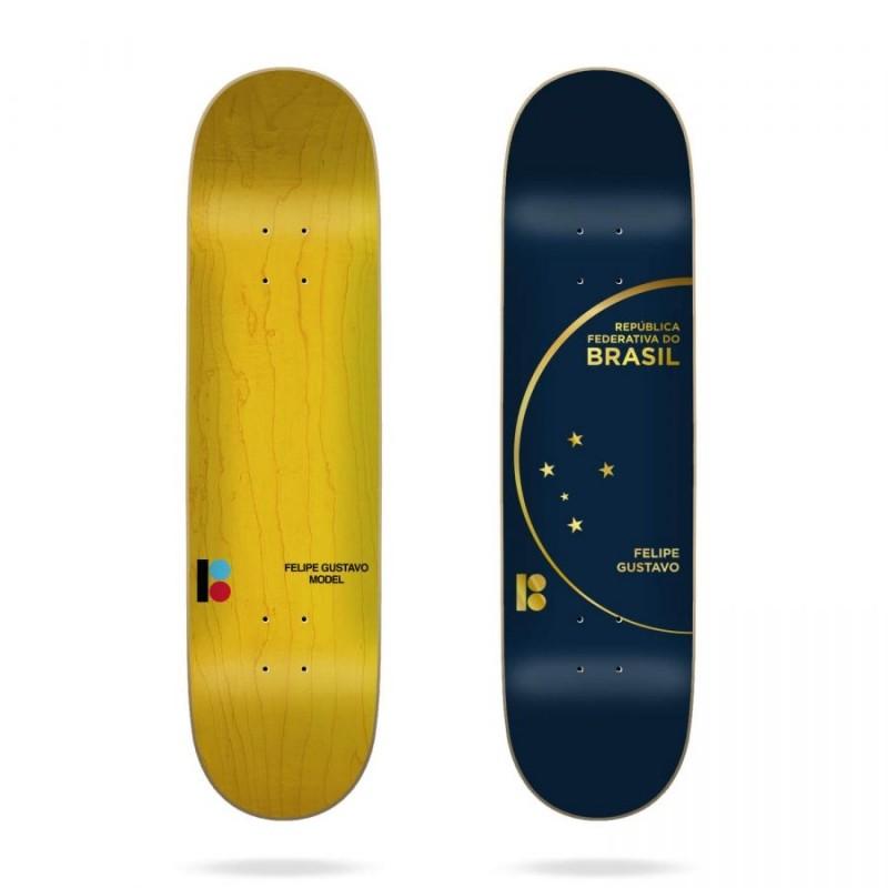 Дека для скейтборда PLAN B Felipe Passport 8 дюйм 2020 фото
