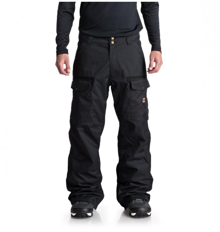 Купить Штаны для сноуборда мужские DC SHOES Code Pnt M Black, Китай