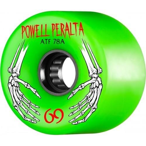 Колеса для скейтборда для cкейтборда POWELL PERALTA All Terrain Green 69 мм 2020 фото