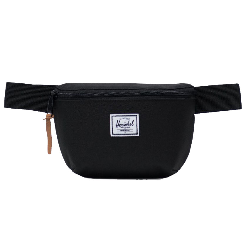 фото Сумка на пояс herschel fourteen black 2021