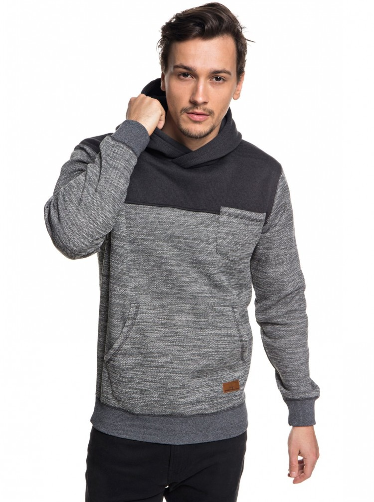 Купить Джемпер QUIKSILVER Kellerblockho M Dark Grey Heather, Китай
