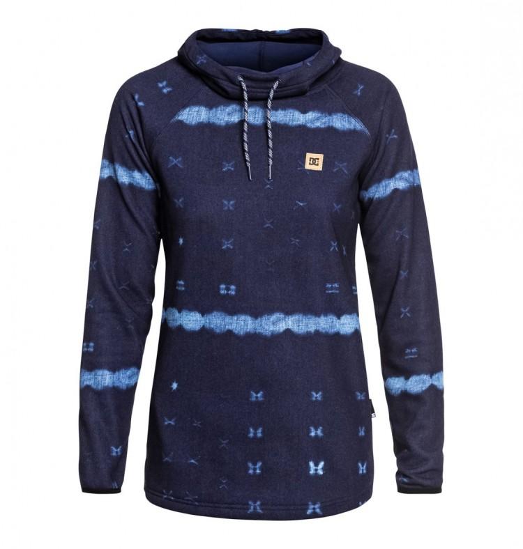 Купить Джемпер DC SHOES Salem J Dark Blue Mud Cloth B, Китай