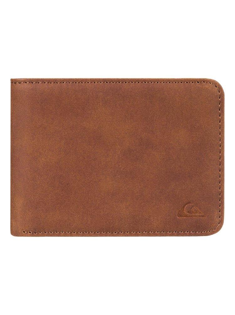 Купить Бумажник мужской QUIKSILVER Slimvintage M Tan Leather, Китай