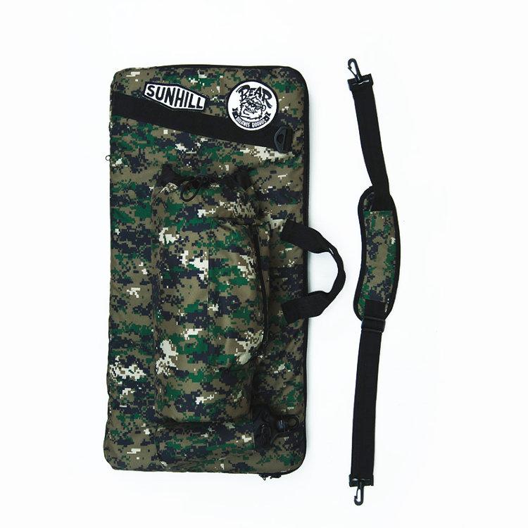 Чехол-рюкзак для балансборда SUNHILL Standard Камуфляжный, Россия  - купить со скидкой