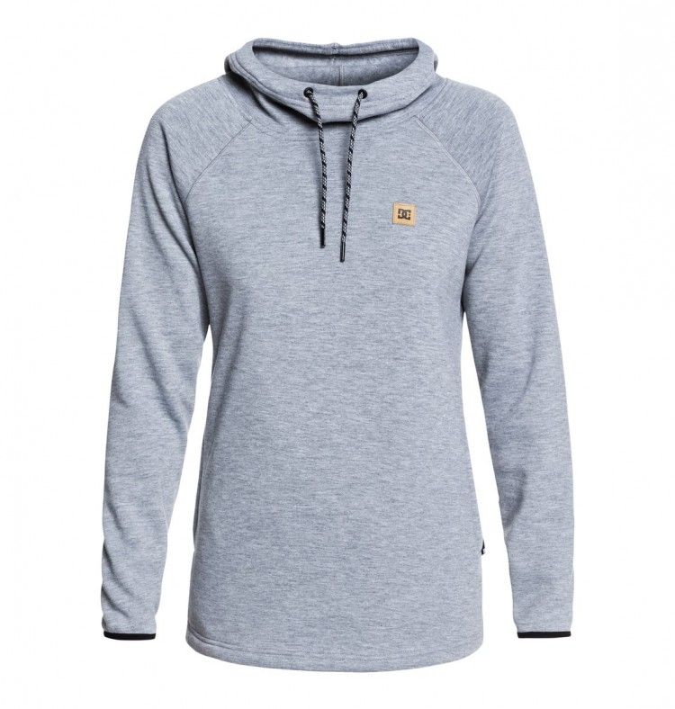 Купить Джемпер DC SHOES Salem J Neutral Gray Heather, Китай