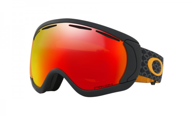 Купить Маска горнолыжная OAKLEY Canopy Skygger Black Orange/Prizm Torch Iridium, Китай