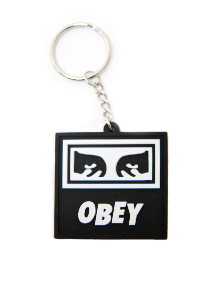 Брелок OBEY Icon Eyes Rubber Keychain Assorted 2020 фото