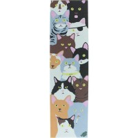 Шкурка для скейтборда ENJOI Cat Collage Mob Grip Tape
