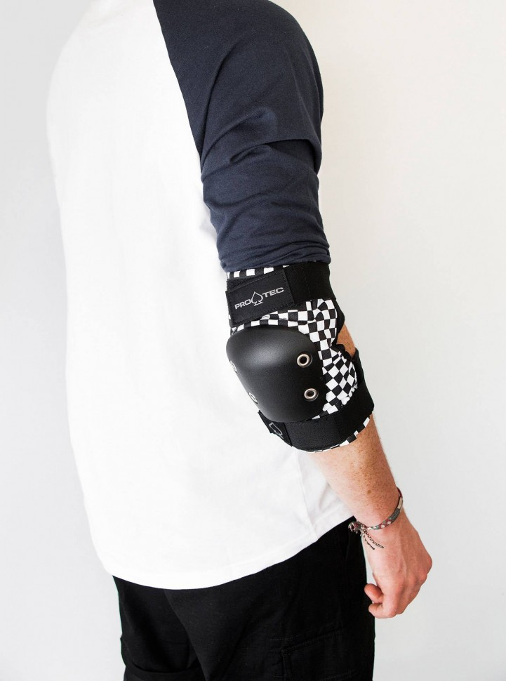 Защита локтей PRO-TEC Street Elbow Pad Black Checker PRO TEC