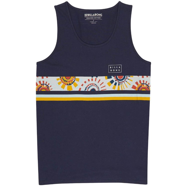 Купить Футболка BILLABONG Team Stripe Tank SS18 Navy