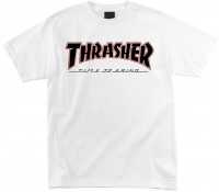 Футболка мужская Independent x Thrasher Time To Grind White