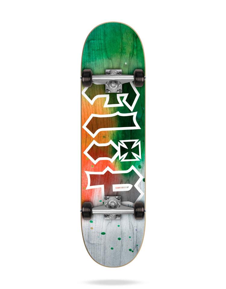 Купить Комплект Скейтборд FLIP Hkd Complete TIE DYE ORANGE 7 , Испания
