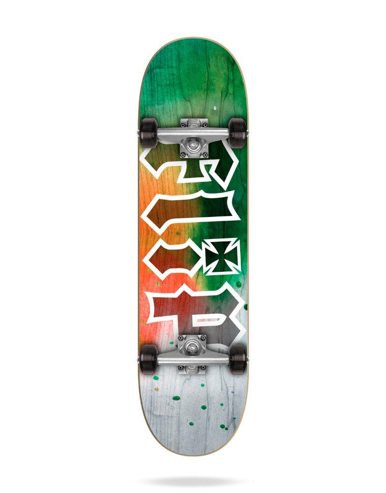 Комплект Скейтборд FLIP Hkd Complete TIE DYE ORANGE 7