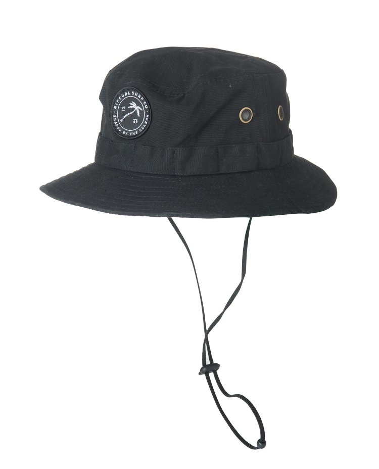 Купить Панама RIP CURL Palmy Wide Brim Hat Black, Китай