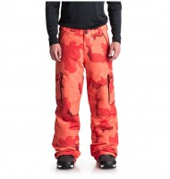 Штаны для сноуборда мужские DC SHOES Banshee Pnt M Red Orange Dcu Camo Men