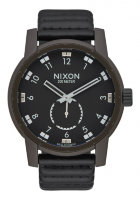 Часы NIXON Patriot Leather A/S Bronze/Black