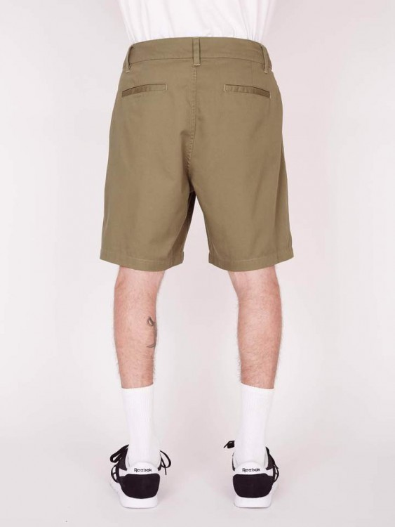 Шорты мужские OBEY Fubar Pleated Short Army, фото 2